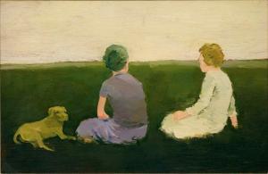 Albert York, 'Late Afternoon,' 1964. (Courtesy Davis & Langdale)