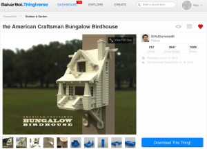 Check out the winning 3D-printed birdhouse creation. Can we move in?