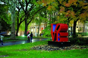 Love on the UPenn campus