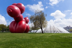 A work by McCarthy at Frieze New York 2013. (Getty Images)