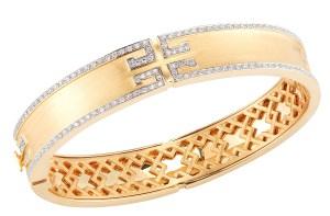 Metropolis Bracelet with Diamonds in 18kt Yellow Gold, $12,000