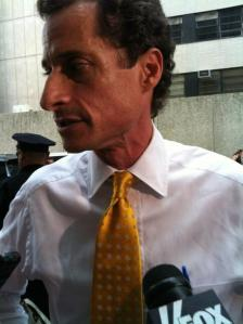 Anthony Weiner is having a rough go.