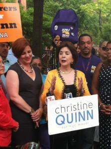 Former Puerto Rican Governor Calderón endorses Christine Quinn