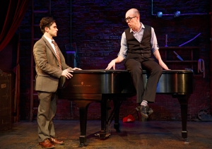 Ryback and Blumenkrantz in 'Murder for Two.' (Photo by Joan Marcus)