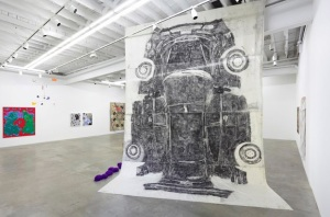 Installation view at Gavin Brown's Enterprise. (Courtesy GBE)