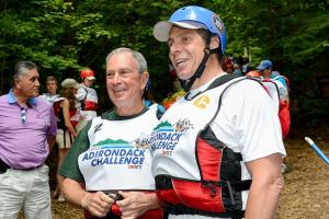 Cuomo and Bloomberg before the race. (Photo: Twitter/@NYGovCuomo)