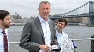 Bill de Blasio isn't a fan of Chris and Christine.