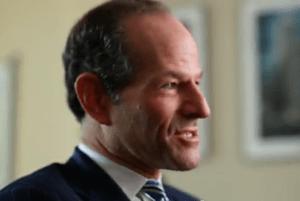 Eliot Spitzer speaking in the ad.