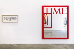 Works by Leavitt and Thomson at Gavin Brown's Enterprise. (Courtesy GBE)