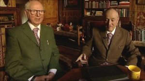 Gilbert and George. (Courtesy bbc.co.uk)