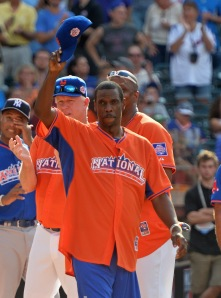 Dwight Gooden at the 2013 All-Star Game. (Mike Coppola/Getty Images)