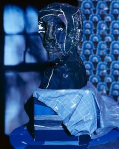 Daniel Gordon, 'Midnight Blue Bust,' 2012. (Courtesy the artist)