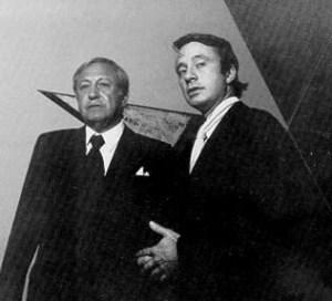 John Hightower, on the right. (Courtesy Artnet)