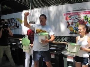 Skip Delano really likes composting.
