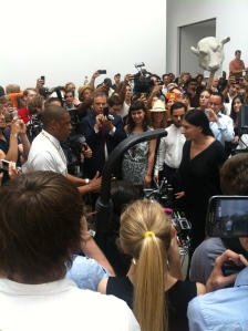 Jay Z and Abramovic.