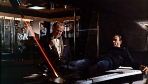A still from 'Goldfinger,' 1964.