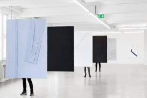Installation view of 'Sanya Kantarovsky: You Are Not An Evening,' at Gesellschaft fur Aktuelle Kunst, Bremen, through Aug. 25, 2013. (Photo by Tobias Hübel, courtesy GAK)