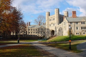 Princeton University campus (Commons).