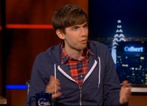 Karp on Colbert. (Photo: Hulu)