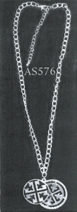 A Belco necklace--featuring the Isis Cross design--included in a sale invoice from September 9, 2003. (Song Law Firm)