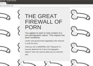 Firewall in action. (Photo: Sicksad's blog)