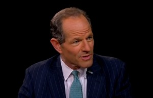 """Eliot Spitzer on PBS's """"Charlie Rose."""" (Photo: YouTube)"""