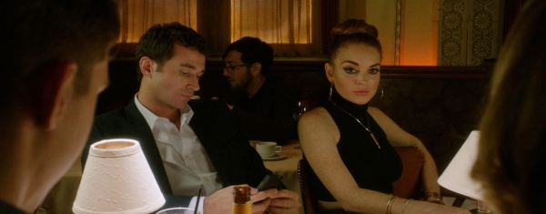 James Deen and Lindsay Lohan star in The Canyons.