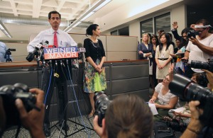 Anthony Weiner's Tuesday press conference.