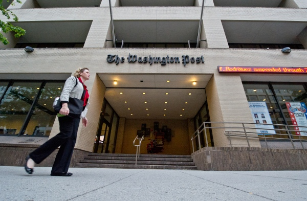The Washington Post HQ (Getty Images)