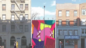 BAM Bike Park rendering. (Courtesy Brooklyn Academy of Music)
