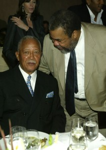 David Dinkins and Bill Lynch. (Photo: Frank Micelotta/Getty Images)