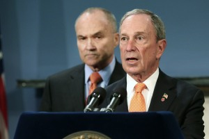 Mayor Bloomberg and Commissioner Kelly. (Photo: Spencer Platt/Getty Images)