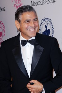 George Clooney. (Courtesy Patrick McMullan)