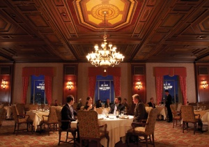 The main dining room at the New York Athletic Club. (NYAC website)