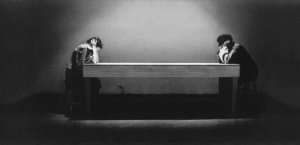 Laurie Anderson, 'Handphone Table,' 1978 (Courtesy of the artist)