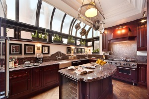 Luckily for this kitchen, its new owner is an interior designer.