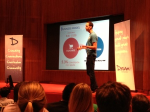CreatorUp's Mike Tringe pitches his startup