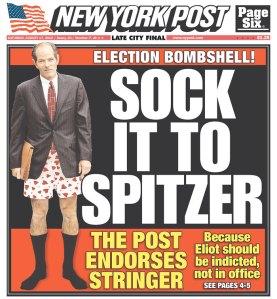 The New York Post endorses Scott Stringer. (Photo: Newseum)