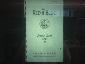 The Red & Blue. Both Capote and Prince wrote for the 1943 literary journal.