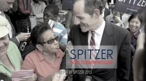 Eliot Spitzer's latest ad.
