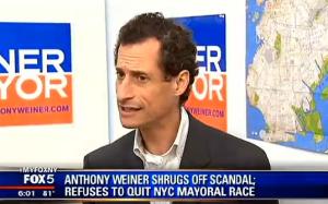Anthony Weiner on FOX 5.