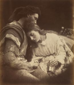 'The Parting of Lancelot and Guinevere,' 1874. (Courtesy the Metropolitan Museum of Art)