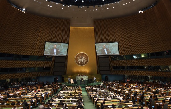 World leaders attend the U.N. General Assembly.