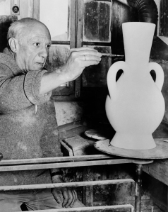 Picasso in 1961. (Andre Villers/AFP/Getty Images)