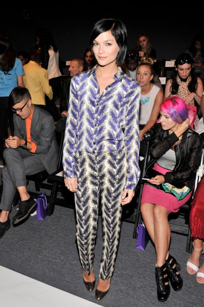 Noon By Noor - Front Row - Mercedes-Benz Fashion Week Spring 2014
