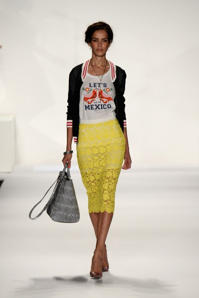 Rebecca Minkoff Spring 2014 Runway Show in Collaboration with American Express UNSTAGED, Music by Janelle Monae - Runway