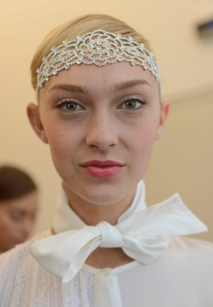 Yuna Yang - Backstage - Mercedes-Benz Fashion Week Spring 2014