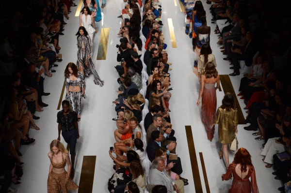 The DVF Spring 2014 Show