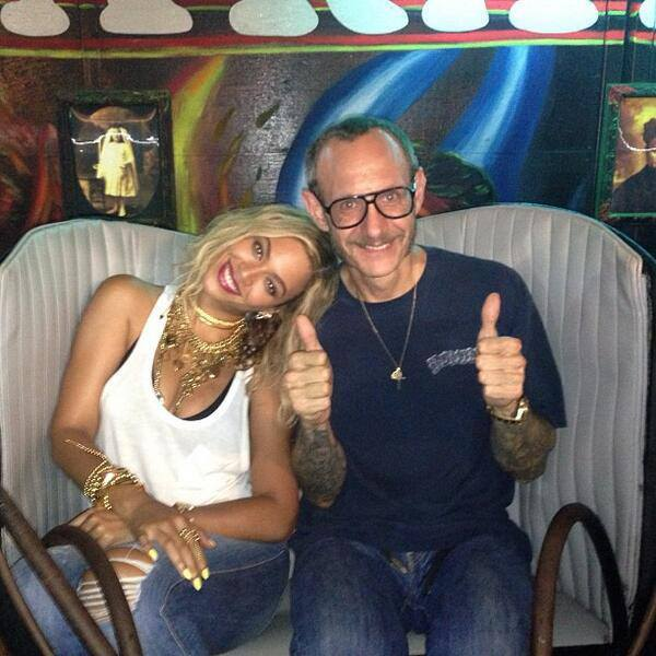 Beyonce and Terry Richardson rode the Spook-A-Rama ride at Deno's Wonder Wheel Amusement Park too. (Deno's Wonder Wheel Amusement Park)