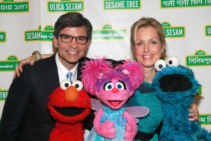 George Stephanopoulos, Ali Wentworth and friends. (Patrick McMullan)
